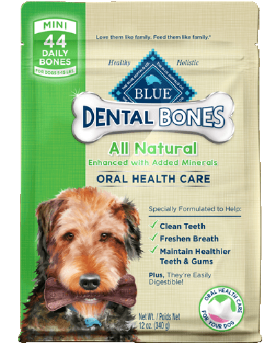 Picture of Blue Buffalo Dental Bones Mini Size - 12 oz.