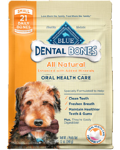 Picture of Blue Buffalo Dental Bones Small Size - 12 oz.