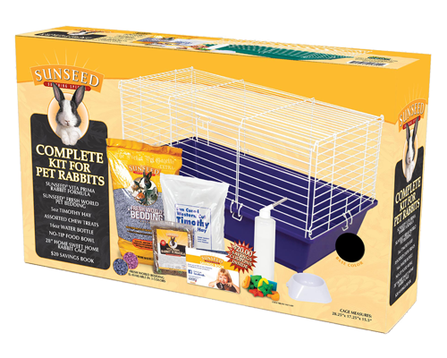 Picture of SunSeed Home Sweet Home Starter Kit for Rabbits