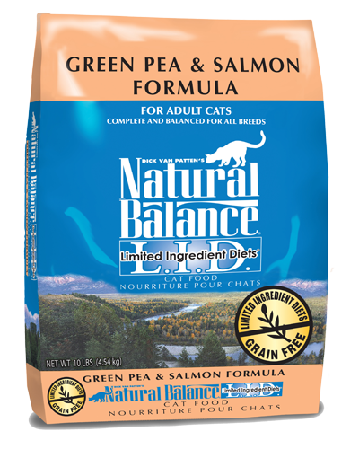Picture of Natural Balance Limited Ingredient Diet Grain Free Green Pea and Salmon Formula - 10 lb.