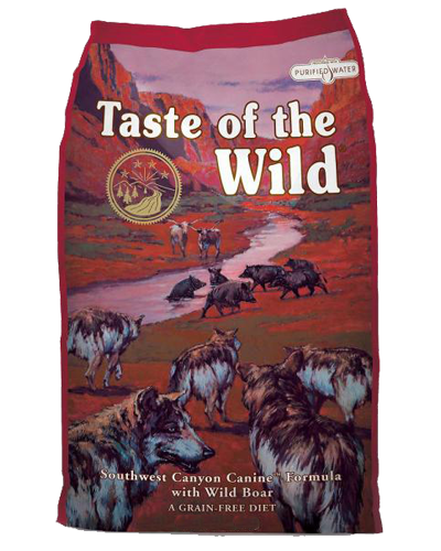Picture of Taste Of The Wild Grain Free Adult Southwest Canyon Recipe with Wild Boar - 5 lbs.