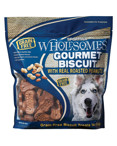 Picture of SPORTMiX Wholesomes Gourmet Biscuit Treats with Real Roasted Peanuts - 3 lb.