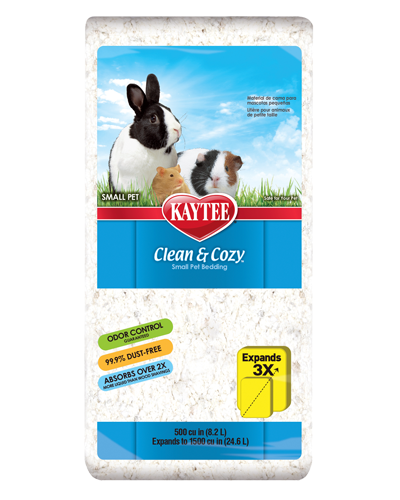 Picture of Kaytee Clean & Cozy Bedding White - 8.2 L