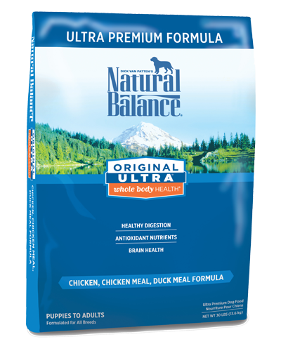 Picture of Natural Balance Original Ultra Whole Body Health Chicken, Chicken Meal, and Duck Meal Formula - 30 lb.