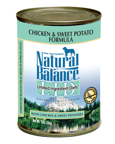 Picture of Natural Balance Limited Ingredient Diets Grain Free Chicken and Sweet Potato Formula - 13 oz.