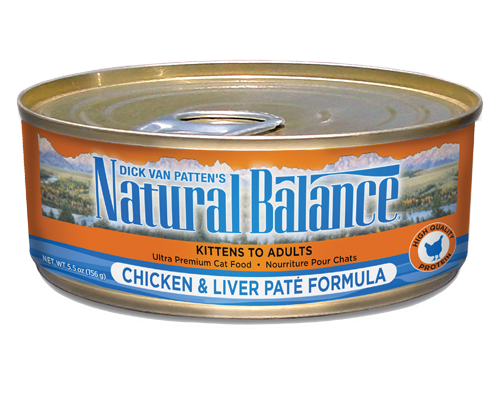 Picture of Natural Balance Ultra Premium Chicken and Liver Pate - 5.5 oz.