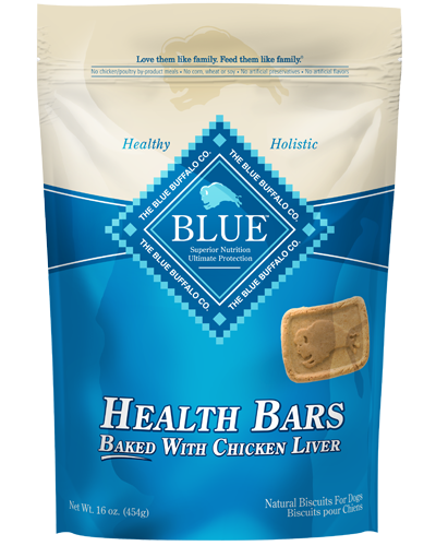 Picture of Blue Buffalo Health Bars Baked with Chicken Liver Natural Biscuits - 16 oz.