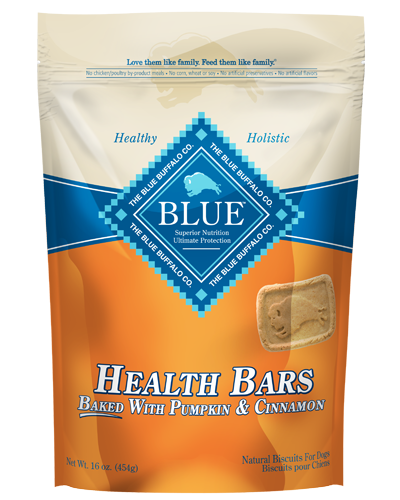 Picture of Blue Buffalo Health Bars Baked with Pumpkin and Cinnamon Natural Biscuits - 16 oz.