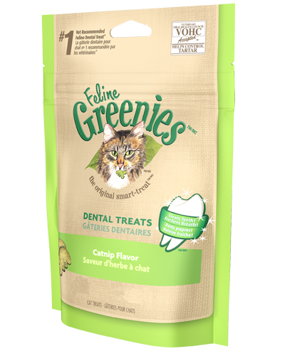 Picture of Feline Greenies Catnip Flavor Dental Treats - 5.5 oz.