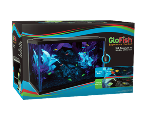Picture of Tetra Glofish Aquarium Kit - 10 Gallon