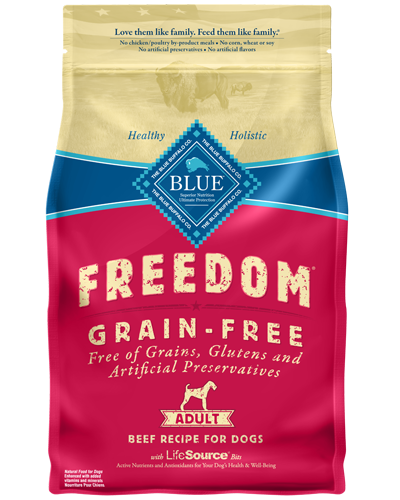 Picture of Blue Buffalo Freedom Grain Free Beef Recipe - 4 lb.