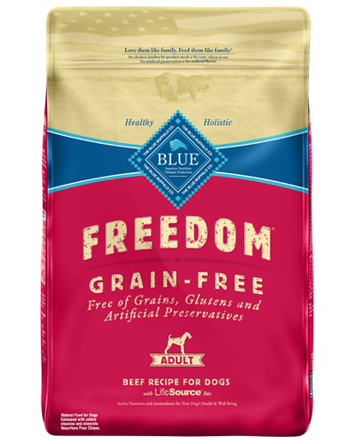 Picture of Blue Buffalo Freedom Grain Free Beef Recipe - 24 lb.
