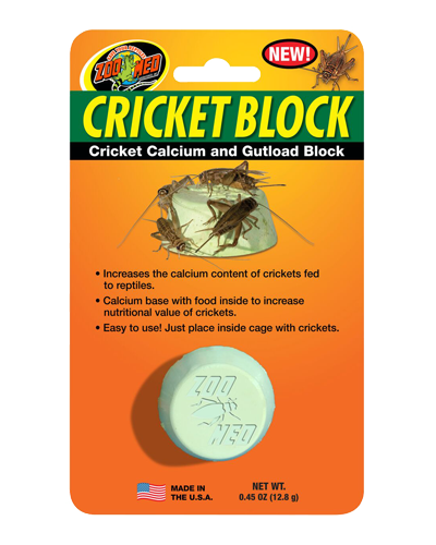 Picture of ZooMed Labs Cricket Block - 5 oz.