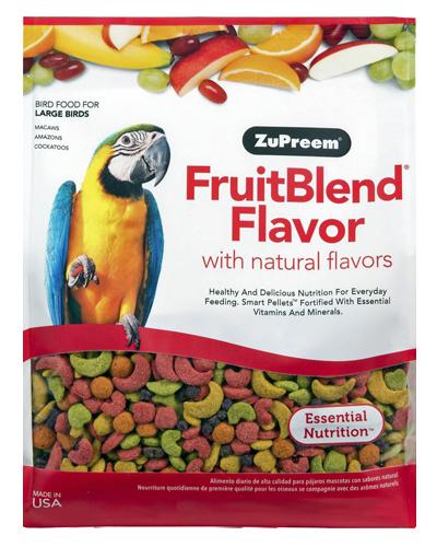 Picture of Zupreem Fruitblend Flavor for Large Birds - 12 lb.
