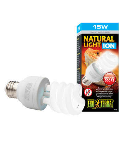 Picture of Exo Terra Natural Light Ion Compact Fluorescent Bulb - 15 Watt