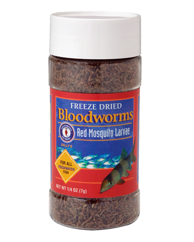 Picture of San Francisco Bay Brand Freeze-Dried Bloodworms - 0.25 oz.