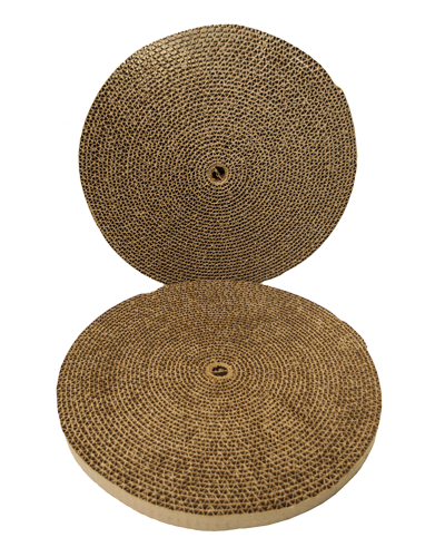 Picture of Bergan Turbo Cat Scratcher Replacement Pad - 2 pack