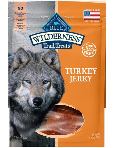 Picture of Blue Buffalo Wilderness Trail Treats Grain Free Turkey Jerky - 3.25 oz.