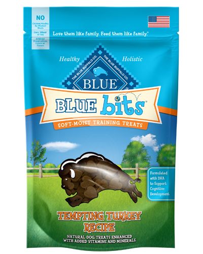 Picture of Blue Buffalo Bits Tempting Turkey Soft-Moist Training Treats - 4 oz.