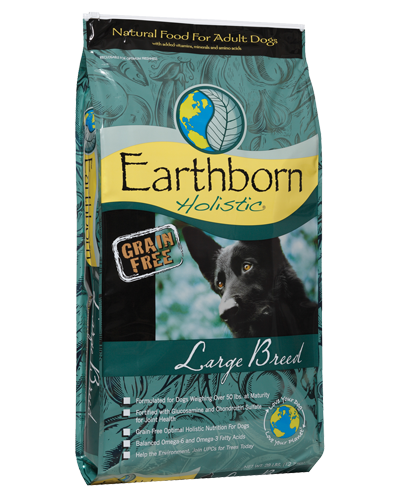 Picture of Earthborn Holistic Grain Free Large Breed Formula with Chicken Meal - 28 lb.