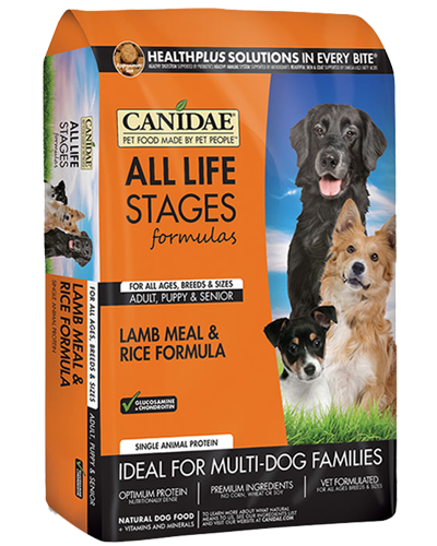 Picture of Canidae All Life Stages Lamb Meal and Rice Formula - 5 lb.
