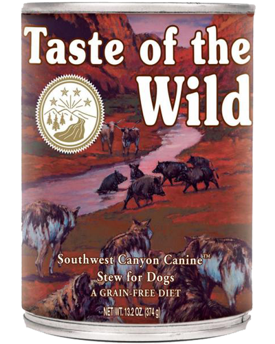 Picture of Taste Of The Wild Grain Free Southwest Canyon Recipe with Beef in Gravy - 13.2 oz.