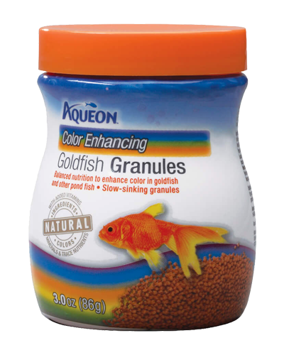 Picture of Aqueon Color Enhancing Goldfish Granules - 3 oz.