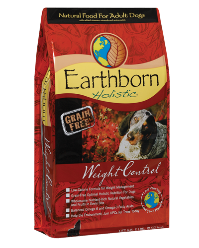 Picture of Earthborn Holistic Grain Free Weight Control Formula with Chicken Meal - 5 lb.