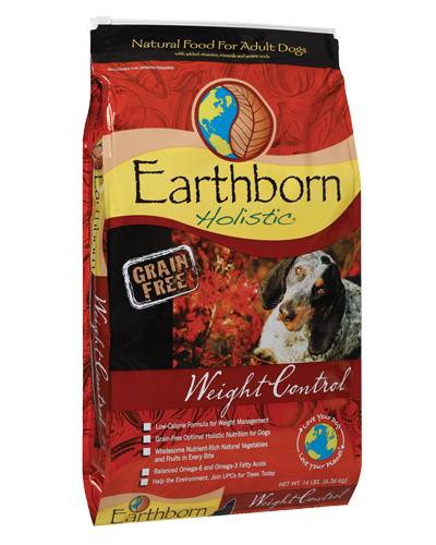Picture of Earthborn Holistic Grain Free Weight Control Formula with Chicken Meal - 14 lb.