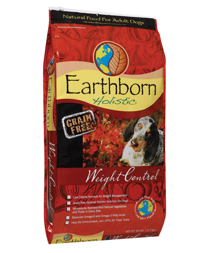 Picture of Earthborn Holistic Grain Free Weight Control Formula with Chicken Meal - 28 lb.