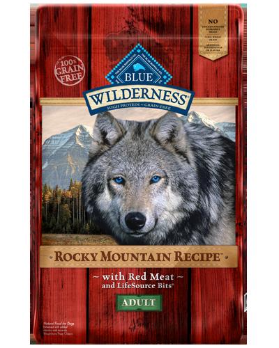 Picture of Blue Buffalo Wilderness Rocky Mountain Recipe Grain Free Red Meat - 10 lb.