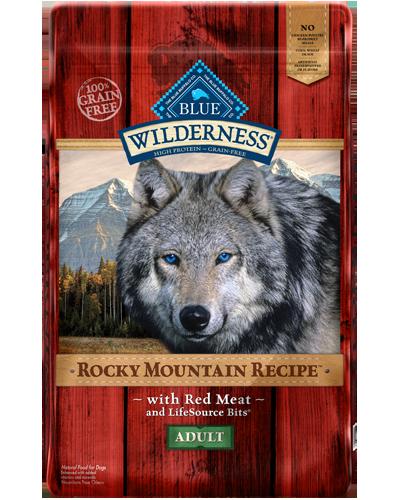 Picture of Blue Buffalo Wilderness Rocky Mountain Recipe Grain Free Red Meat - 22 lb.
