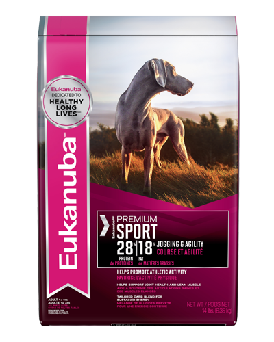 Picture of Eukanuba Performance: Premium Sport 28/18 Active Dog Food - 30 lb.
