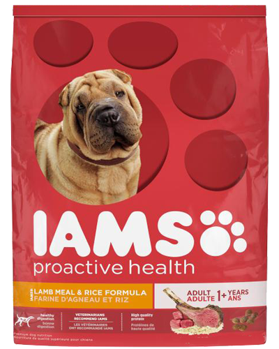 Picture of Iams ProActive Health Adult with Grass-Fed Lamb - 12.5 lbs.