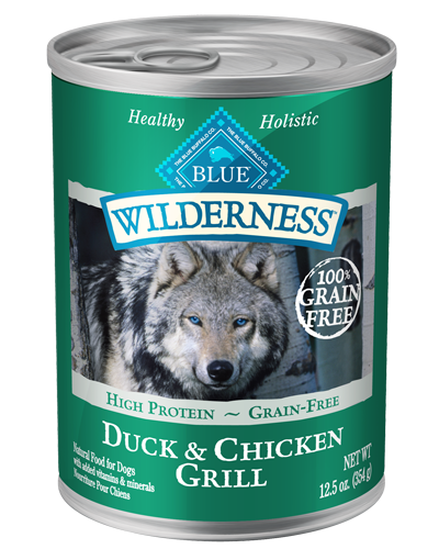 Picture of Blue Buffalo Wilderness Grain Free Duck and Chicken Grill - 12.5 oz.