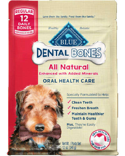 Picture of Blue Buffalo Dental Bones Regular Size - 12 oz.