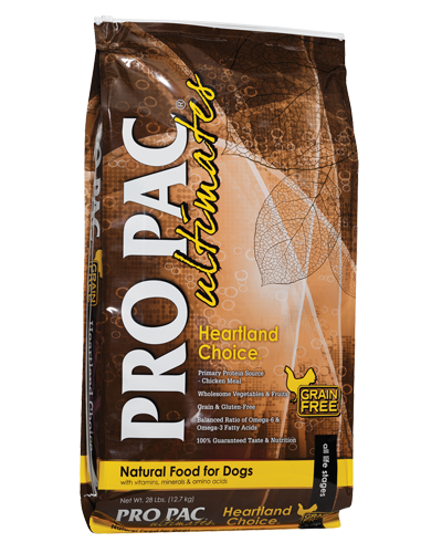 Picture of Pro Pac Ultimates Grain Free Heartland Choice Formula with Chicken Meal - 28 lbs.