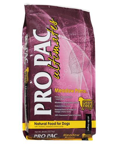 Picture of Pro Pac Ultimates Grain Free Meadow Prime Formula with Lamb Meal - 28 lbs.