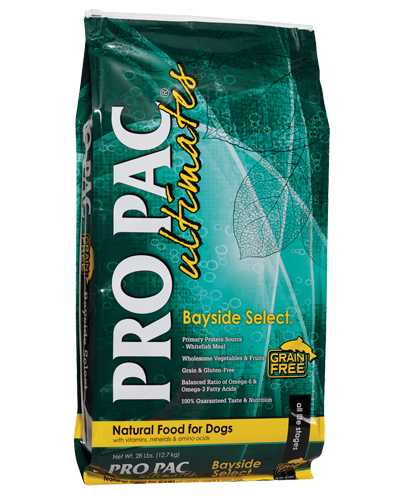 Picture of Pro Pac Ultimates Grain Free Bayside Select Formula with Whitefish Meal - 28 lbs.