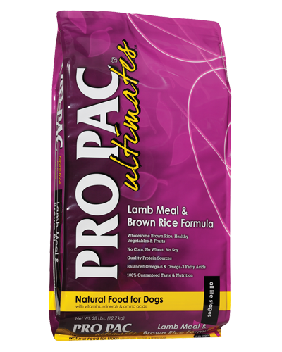 Picture of Pro Pac Ultimates Lamb Meal & Brown Rice Formula - 28 lbs.