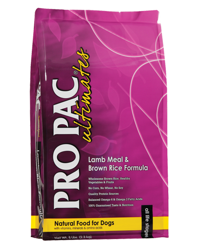 Picture of Pro Pac Ultimates Lamb Meal & Brown Rice Formula - 5 lbs.