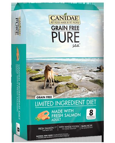 Picture of Canidae Grain Free PURE Sea Fresh Salmon Formula - 4 lb.