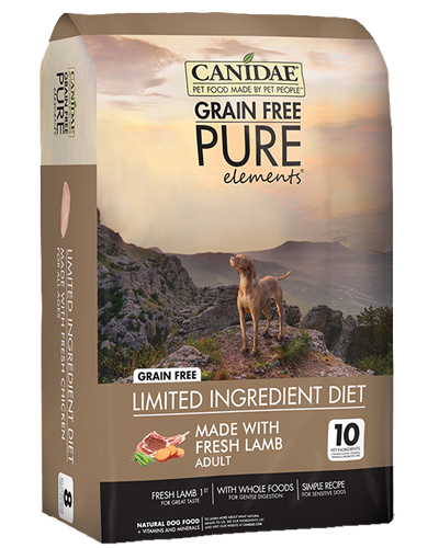 Picture of Canidae Grain Free PURE Elements Fresh Lamb Formula - 24 lb.