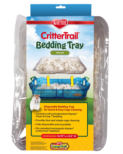 Picture of Kaytee CritterTrail Bedding Tray - 3 pack