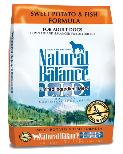 Picture of Natural Balance Limited Ingredient Diet Grain Free Sweet Potato and Fish Formula - 13 lb.