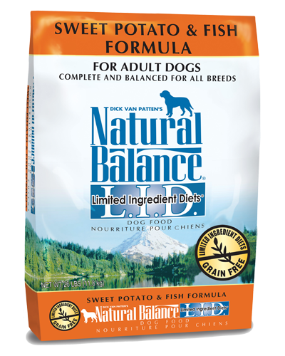 Picture of Natural Balance Limited Ingredient Diet Grain Free Sweet Potato and Fish Formula - 26 lb.