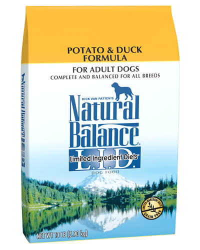Picture of Natural Balance Limited Ingredient Diet Grain Free Potato and Duck Formula - 13 lb.