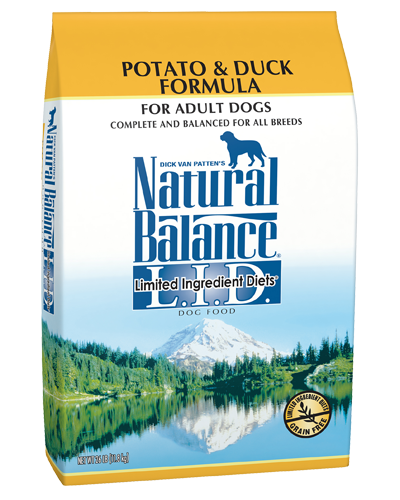 Picture of Natural Balance Limited Ingredient Diet Grain Free Potato and Duck Formula - 26 lb.