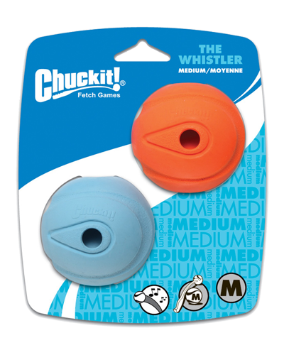 Picture of Chuckit! The Whistler Medium Ball - 2 Pack