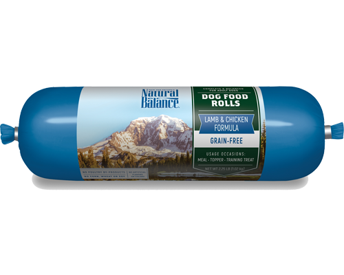 Picture of Natural Balance Dog Food Roll Grain Free Lamb and Chicken Formula - 2.25 lb.